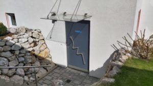 Zugang zur Psychotherapiepraxis Weißenhorn