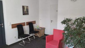 Eingangsbereich Psychotherapiepraxis Weißenhorn